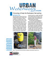 Urban waterways : choosing a pump for rainwater harvesting