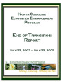 North Carolina Ecosystem Enhancement Program : end of transition report : July 22, 2003 - July 22,...