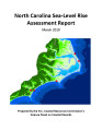 North Carolina sea level rise assessment project