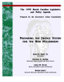 1999 North Carolina legislative and policy agenda : preparing the justice system for the new...
