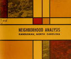 Neighborhood analysis, Randleman, North Carolina