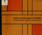 Population and economy, Randleman, North Carolina