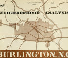 Neighborhood analysis, Burlington, North Carolina