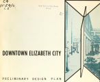 Downtown Elizabeth City, preliminary design plan