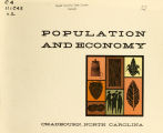Population and economy, Chadbourn, North Carolina