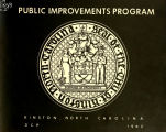 Public improvements program, Kinston, North Carolina