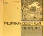 Preliminary design plan, Dunn, N.C.