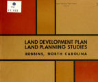 Land development plan, land planning studies, Robbins, North Carolina