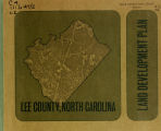 Land development plan, Lee County, North Carolina