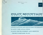 Land use analysis and plan: town of Pilot Mountain, North Carolina
