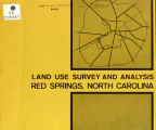 Land use survey and analysis, Red Springs, North Carolina