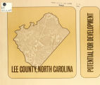 Lee County, North Carolina, potential for development