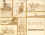 Maxton, N.C., neighborhood analysis