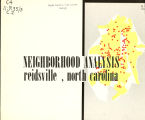 Neighborhood analysis, Reidsville, North Carolina