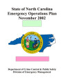 State of North Carolina emergency operations plan, November 2002