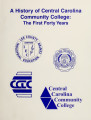 History of Central Carolina Community College : the first forty years