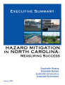 Hazard mitigation in North Carolina : measuring success : sustainable housing, sustainable...