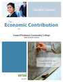 Economic contribution of Central Piedmont Community College, State of North Carolina executive...