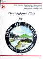 Thoroughfare plan for the town of Canton