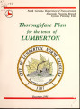 Thoroughfare plan for the city of Lumberton