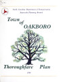 Thoroughfare plan for the town of Oakboro