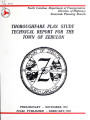 Thoroughfare plan study technical report for the town of Zebulon