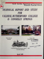 Valdese--Rutherford College--Connelly Springs thoroughfare plan