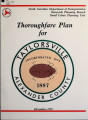 Thoroughfare plan for Taylorsville, North Carolina