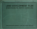Land development plan, Stantonsburg, North Carolina : population and economy, land use survey and...