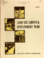 Land use survey and development plan, Shelby, North Carolina