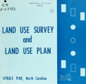 Land use survey and land use plan, Spruce Pine, North Carolina
