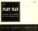 Pilot plan, preliminary land development and major thoroughfare plan