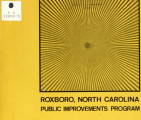 Roxboro, North Carolina, public improvements program