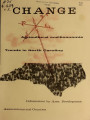 Change : agricultural and economic trends in North Carolina ; information by area development...