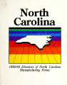 Directory of North Carolina manufacturing firms [1993]