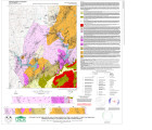 Geologic map of the eastern and central portions of the Lake Michie 7.5-minute quadrangle, Durham,...