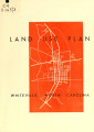 Land use plan, Whiteville, North Carolina