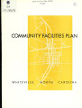 Community facilities plan, Whiteville, North Carolina