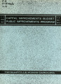 Capital improvements budget, public improvements program, F.Y. 1966-1967, F.Y. 1971-1972,...
