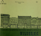 Guidelines for improving the central business district, Wilson, N.C.