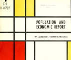 Population and economic report, Wilmington, North Carolina