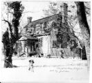Colonial residence, Raleigh N.C. built by Joel Lane