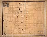 Shaffer's outline map of the city of Raleigh, N.C.