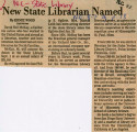 New State Librarian Named
