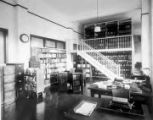 Interior of the State Library, c.1930's