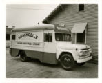 Chatham County Public Library bookmobile (exterior)