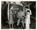 Cumberland County bookmobile. North Carolina Work Projects Administration Library Project showing...