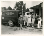 Cumberland County bookmobile. North Carolina Work Projects Administration Library Project, showing...