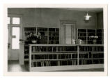 Mount Airy Public Library. Bookshelves