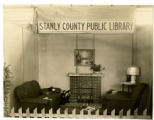 Stanly County Public Library booth at the 1938 Stanly County Fair